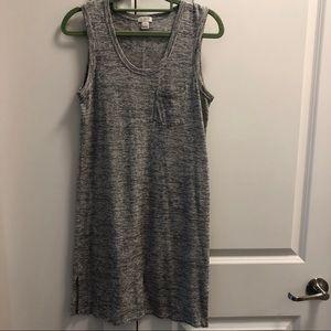 Petite Striped Modal Pocket Dress